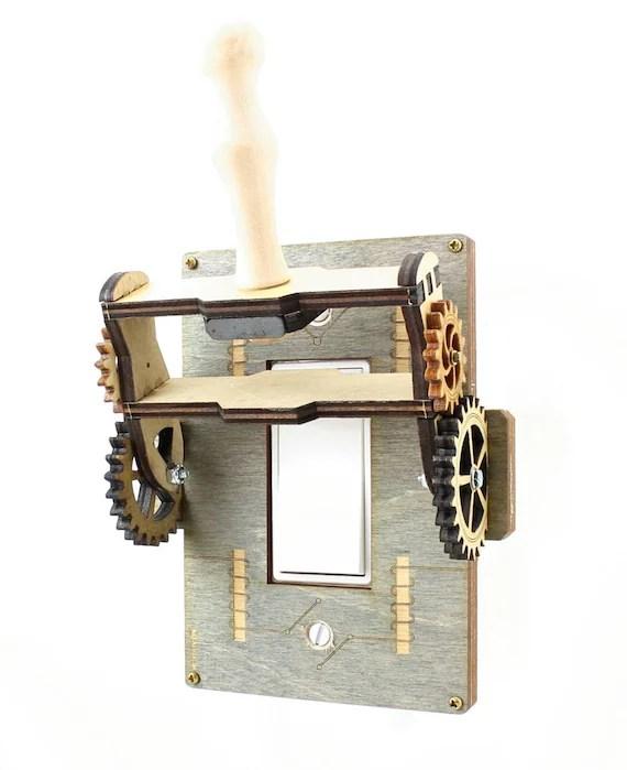 Steampunk Rocker Old fashion Knife Switch 8101A