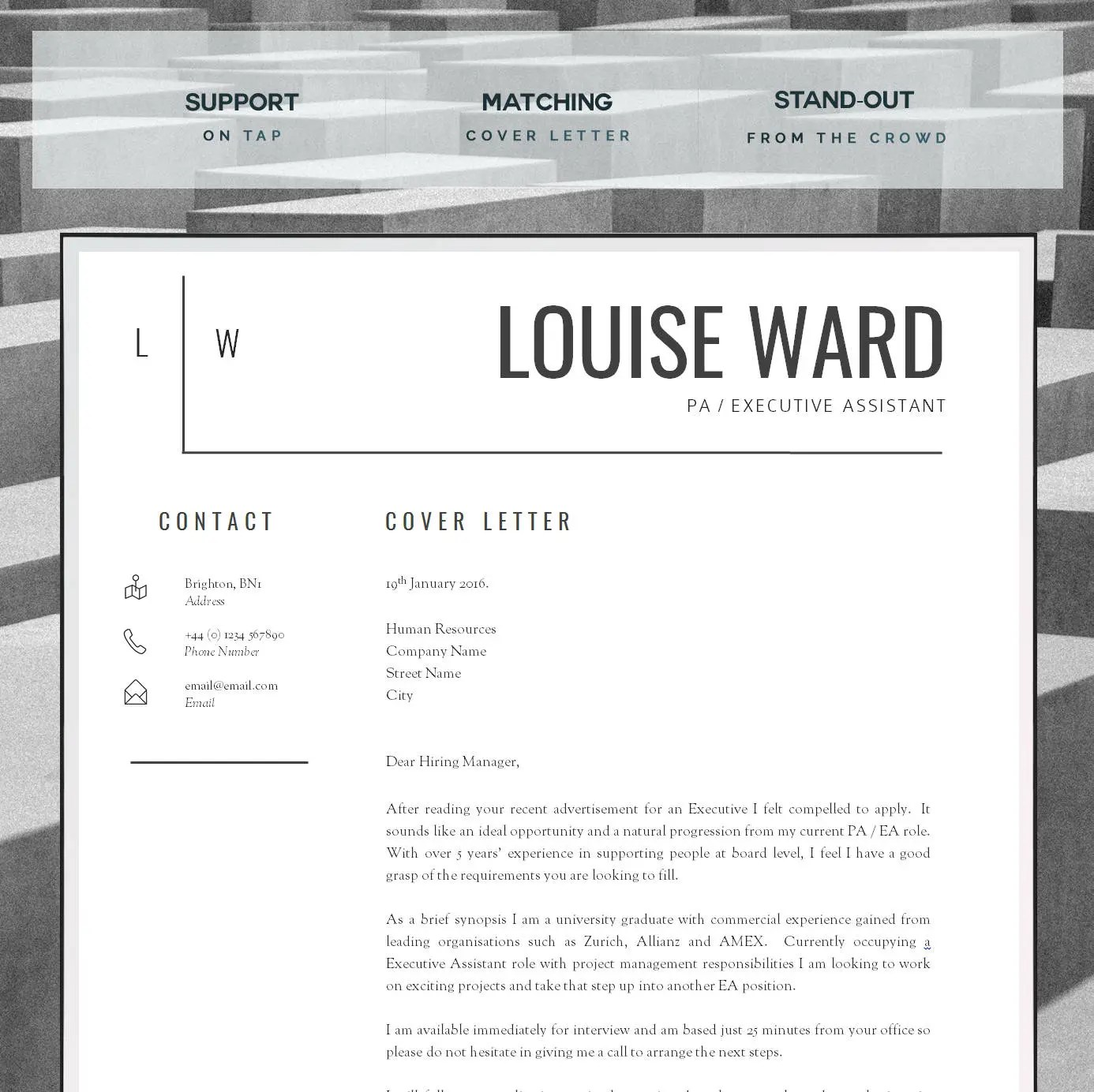 Resume Template CV Template Cover Letter Resume Advice - design cover letter