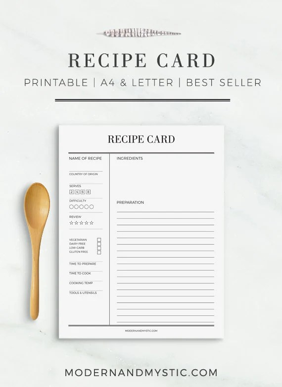 open office recipe template - Onwebioinnovate