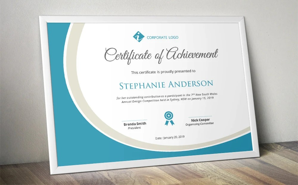business certificate templates for word - Josemulinohouse - business certificate templates