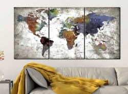 Exceptional World Map Map Panel Canvas World Map Canvas Map Art Pin Map Map Canvas World Map Map Panel Canvas World Map Canvas Watercolor On Canvas Ideas Watercolor On Canvas Vs Paper
