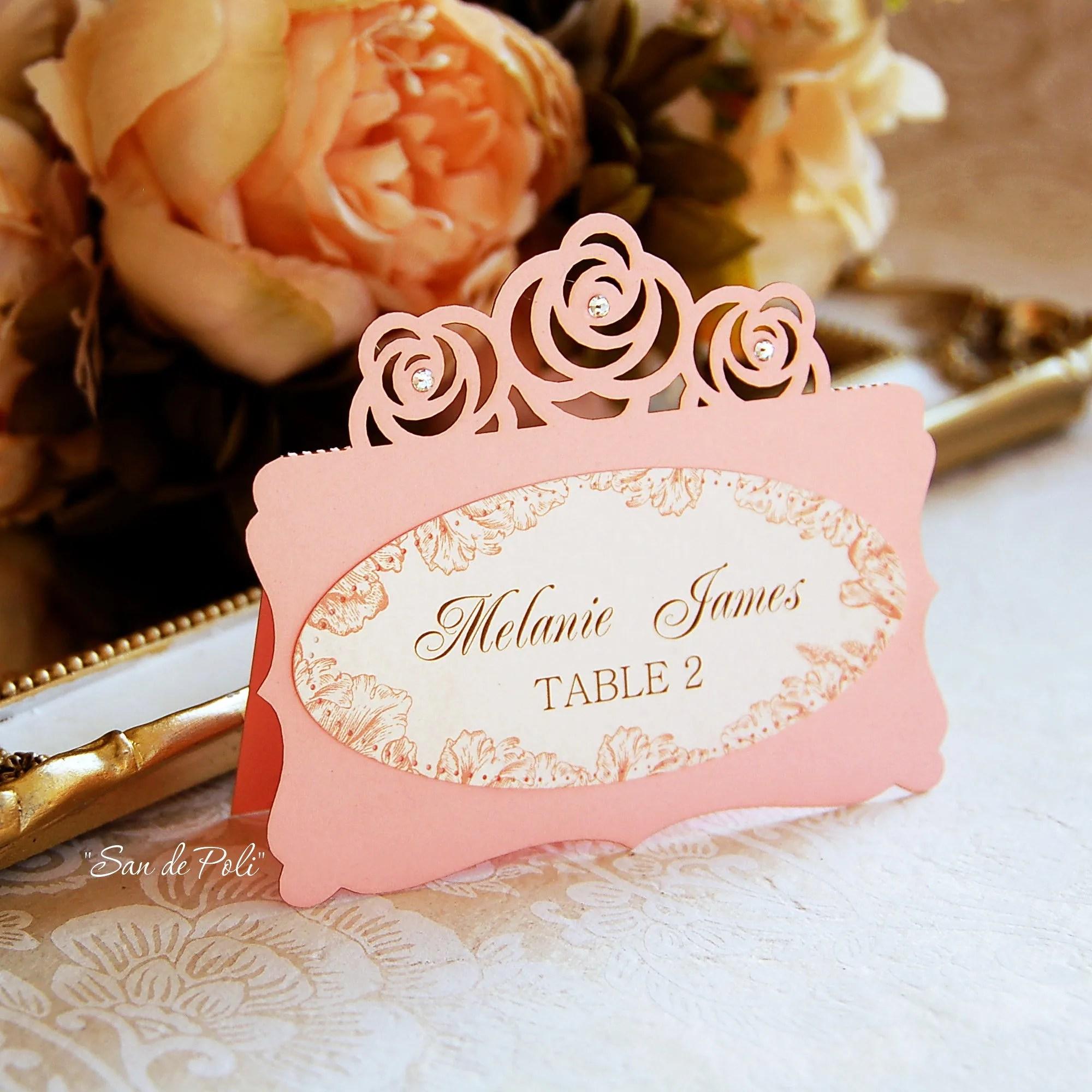 wedding placecard templates