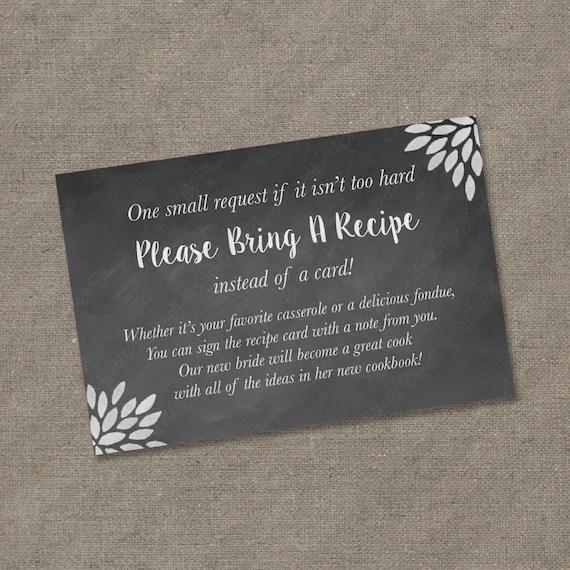 recipe card cookbook