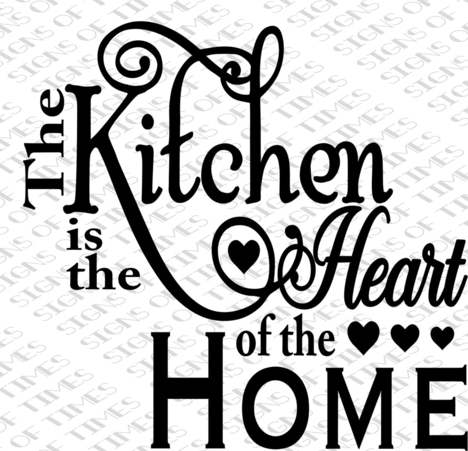 Free Kitchen Design Quotes Svg Kitchen Is The Heart Of The Home Kitchen Svg Png