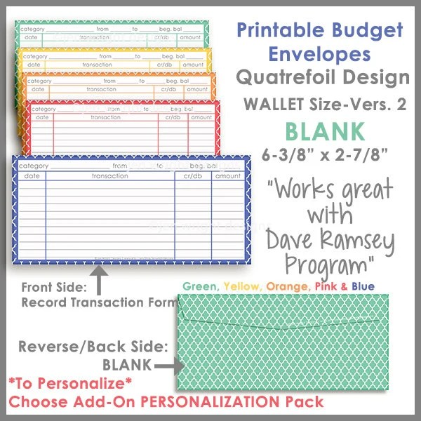 budget envelopes template - Blackdgfitness