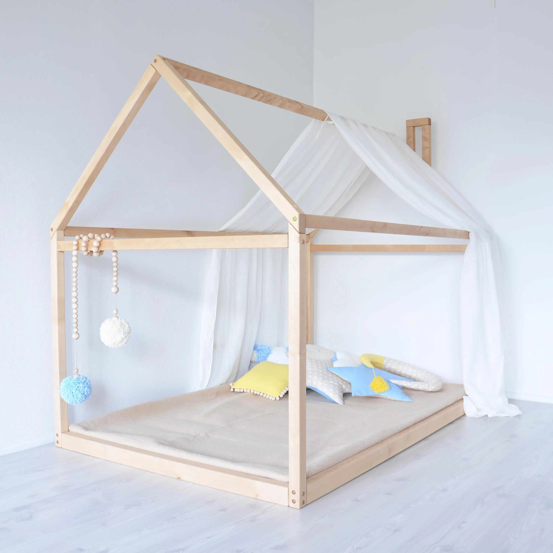 Bett Rausfallschutz Babyone Kinderbett Hausform Swalif