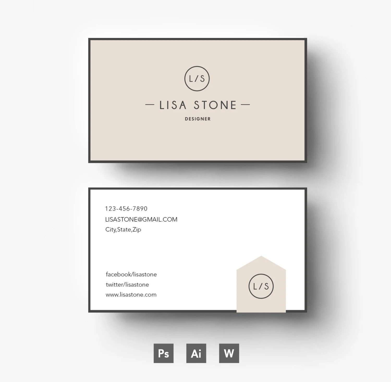 Modern template\/ Business car\/CV template\/Cover - business card resume