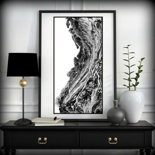 Superb Black Wall Art Abstract Art Black Prints Black Art Prints Black Art Wall Home Decor By L Dawning Scott Black