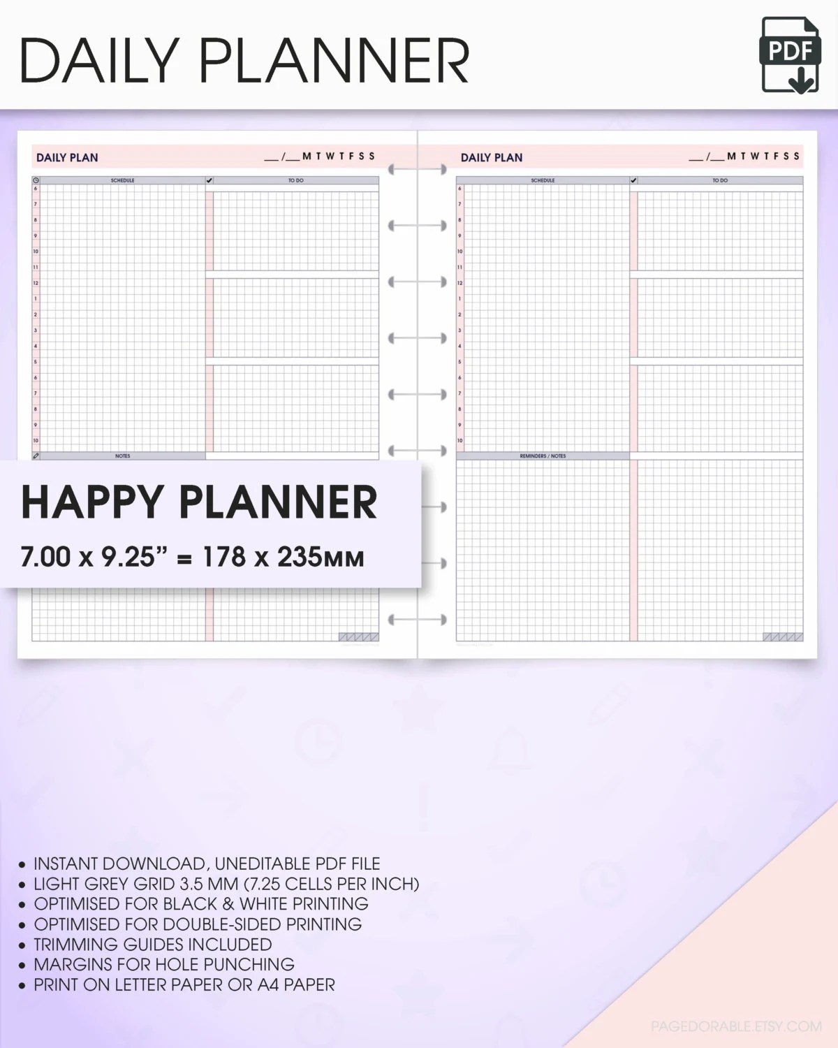 printable weekly planner for college students - Towerssconstruction