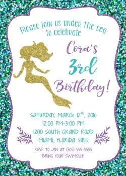 Special Mermaid Birthday Invitations Gallery Invitation Templates Free Mermaidbirthday Invitations Choice Image Invitation Templates Mermaid Birthday Mermaid Birthday Invitations Gallery Invitation Te
