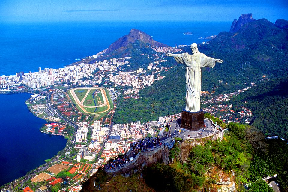 Jesus Christ 3d Wallpaper Le Corcovado 224 Rio Br 233 Sil