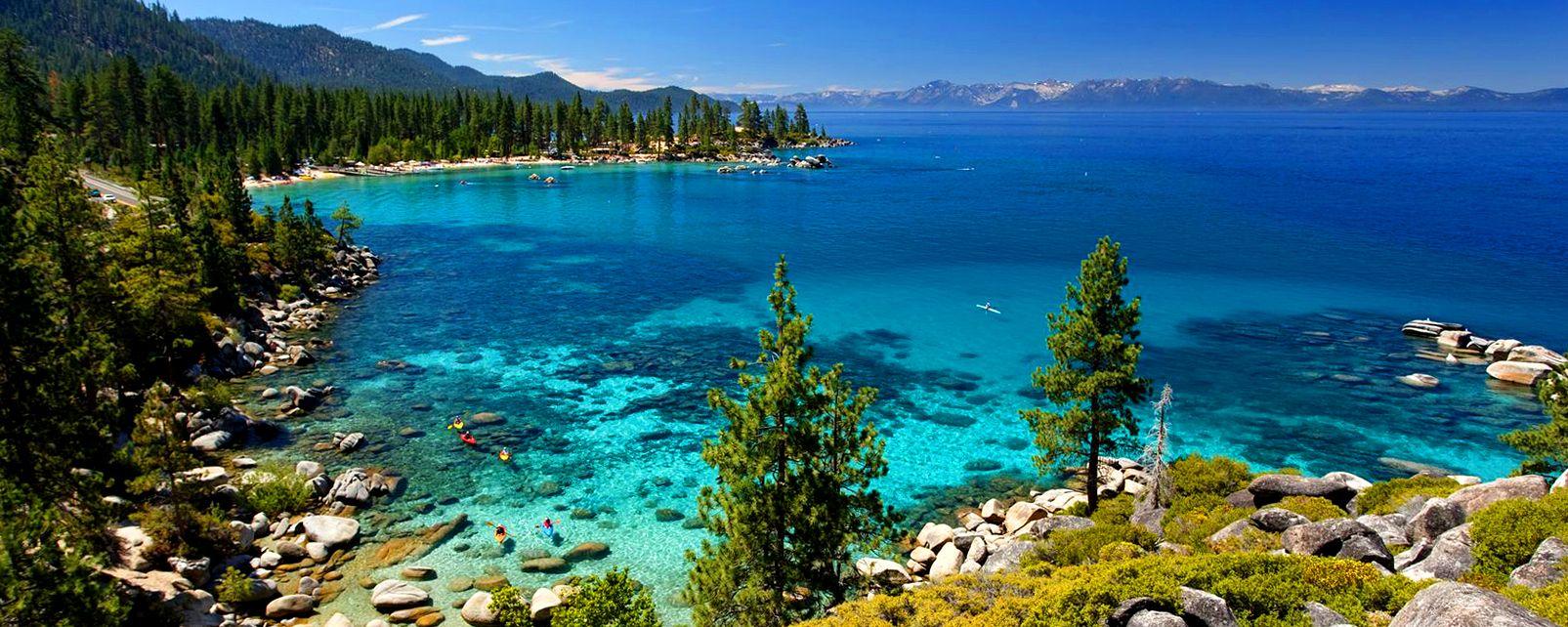 Wallpaper Hd Mu Lac Tahoe Californie Etats Unis