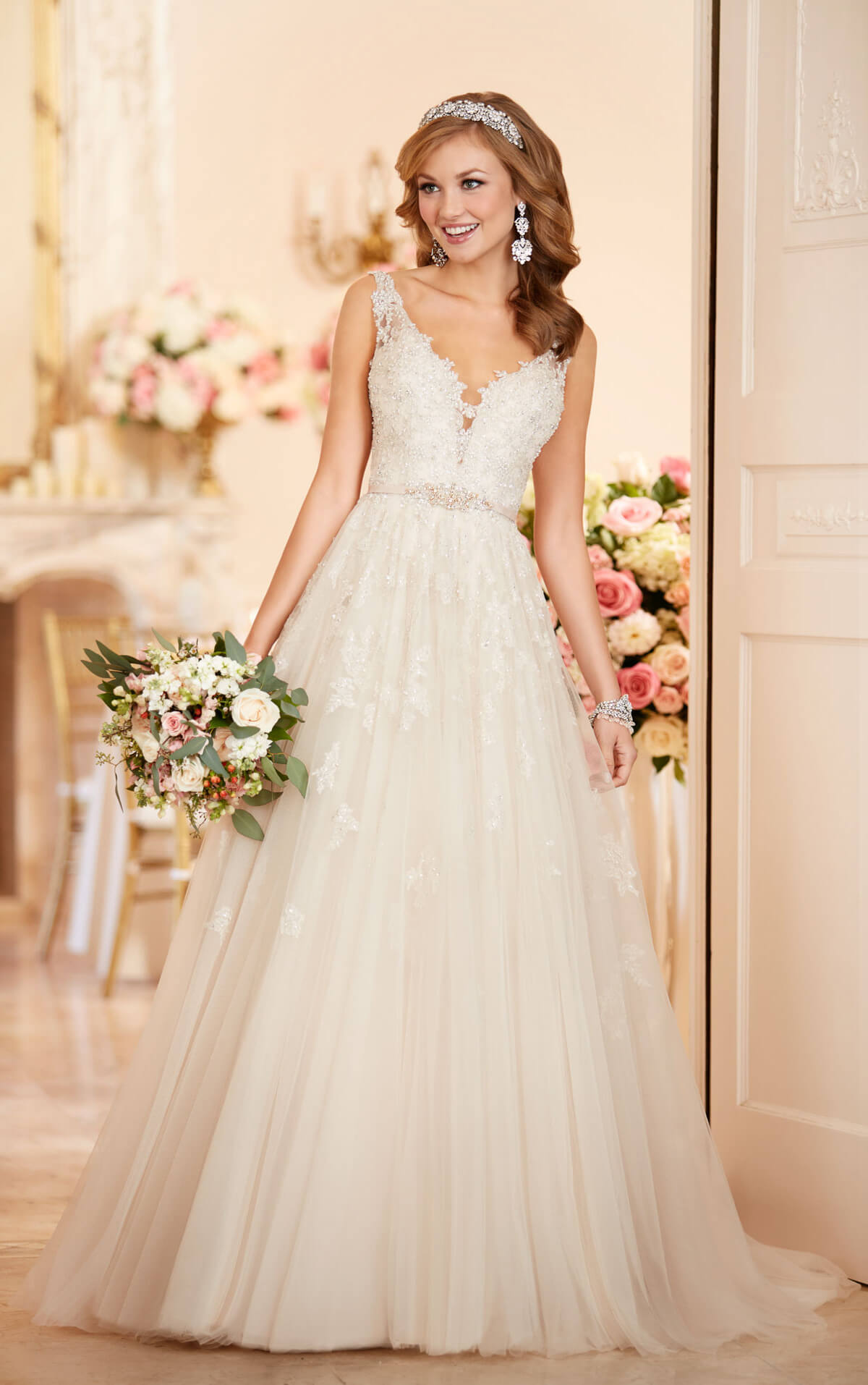 wedding dresses aline lace a line wedding dresses Tulle A Line Wedding Dress