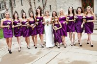 What Color Shoes to Wear with Purple Dress for Bridesmaids ...