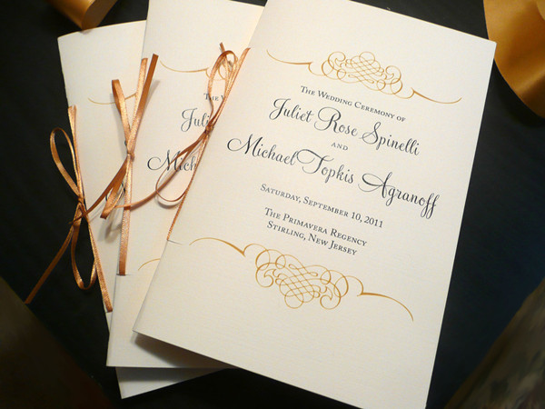Wedding Program Wording - EverAfterGuide - wedding program