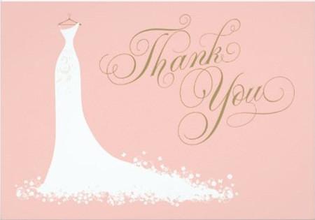 Etiquette and Samples Bridal Shower Gratitude Notes - EverAfterGuide