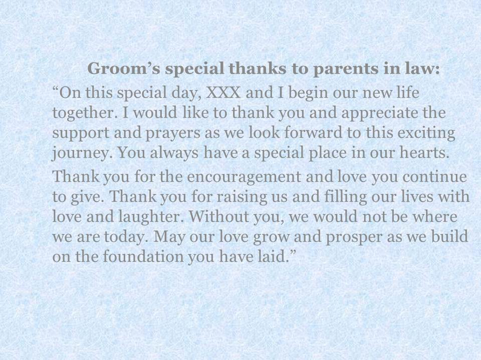A Message from the Bride and Groom to their Parents - EverAfterGuide - letters to the parents