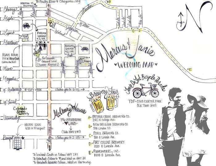Wedding Invitation Maps Creator - EverAfterGuide
