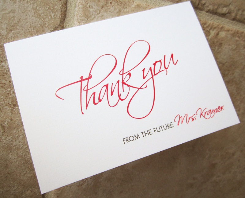 Bridal Shower Gratitude Notes Tips and Samples - EverAfterGuide
