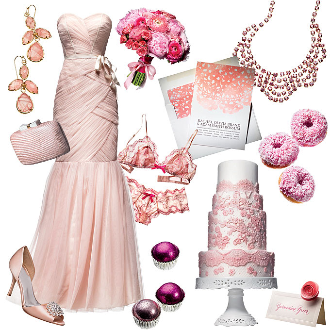What Color Matches Fuchsia for Wedding? - EverAfterGuide - pink wedding photo