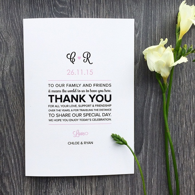 Wedding Program Messages of Thanks - EverAfterGuide - how to design wedding program template