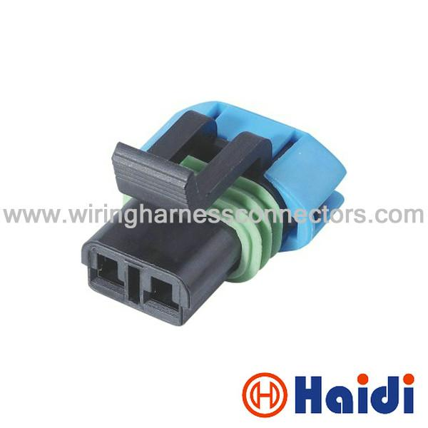Female GM Delphi Automotive Wiring Harness Connectors 2 Pin Wire