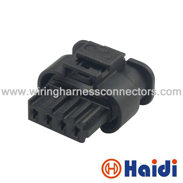 Waterproof 4 Pin Female Wire Harness Connector Automotive Socket 805