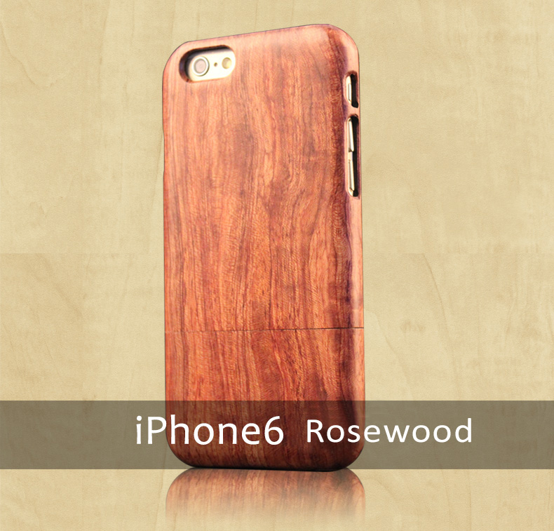 Handmade Solid Wooden Cases/Skins for iPhone 7/7 Plus, 6/6S, 6/6S