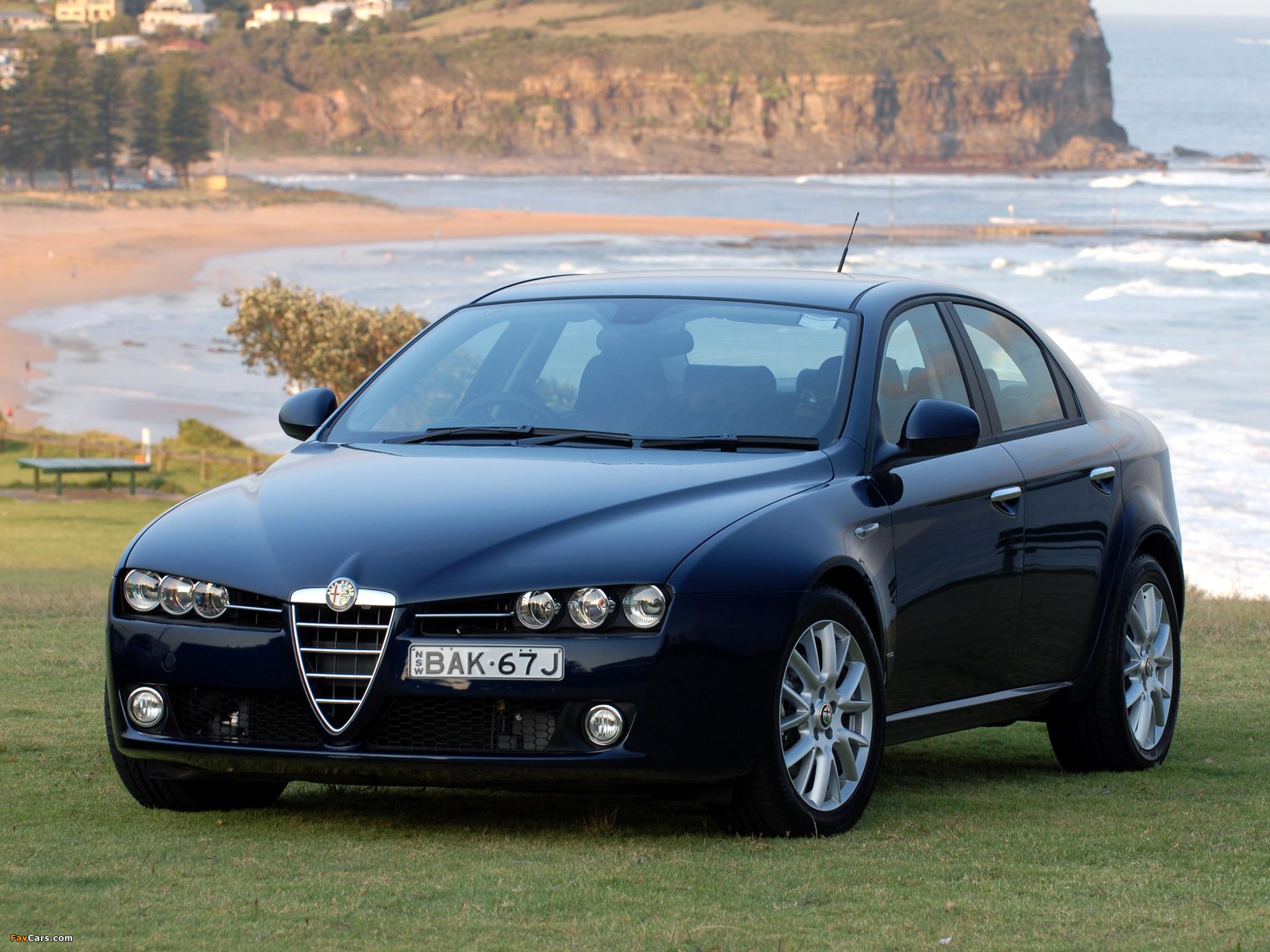 1024x768 Car Wallpapers Alfa Romeo 159 1 9 Jtdm Au Spec 939a 2006 2008
