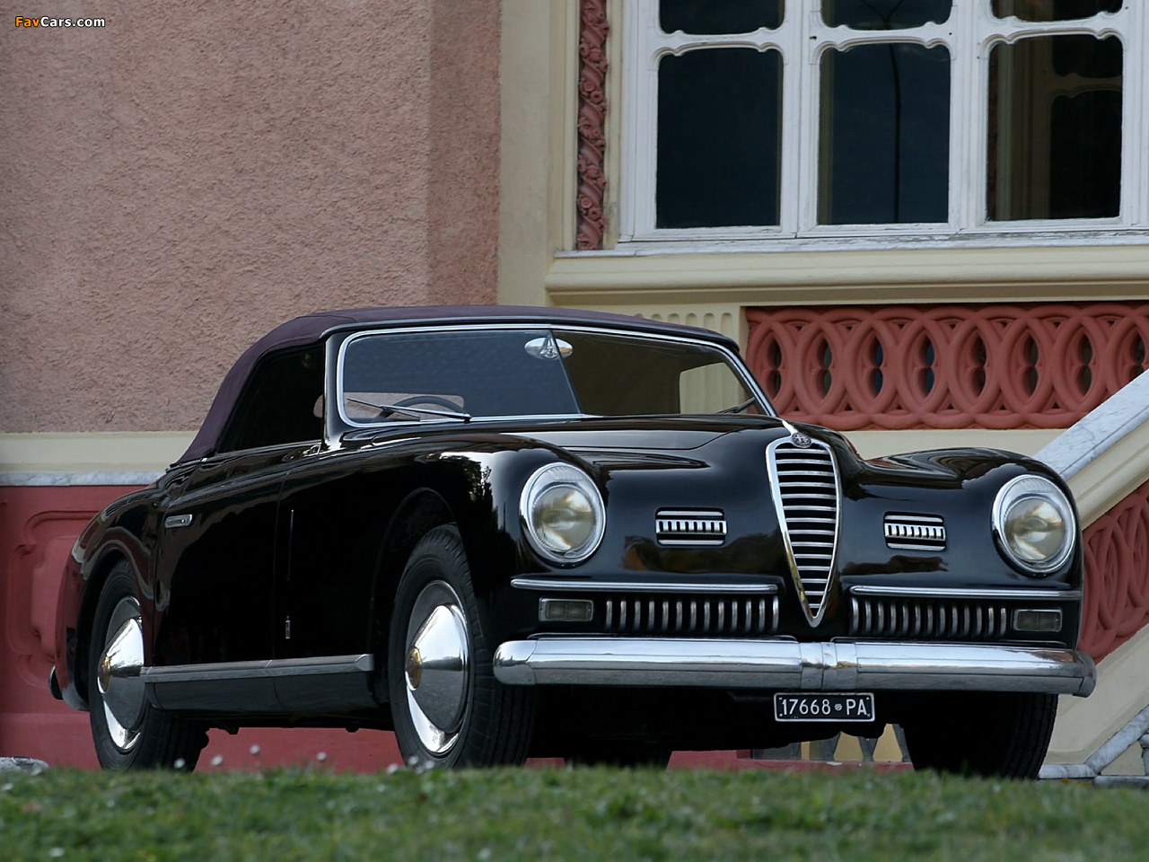 1024x768 Car Wallpapers Alfa Romeo 6c 2500 Ss Cabriolet 1947 1951 Wallpapers