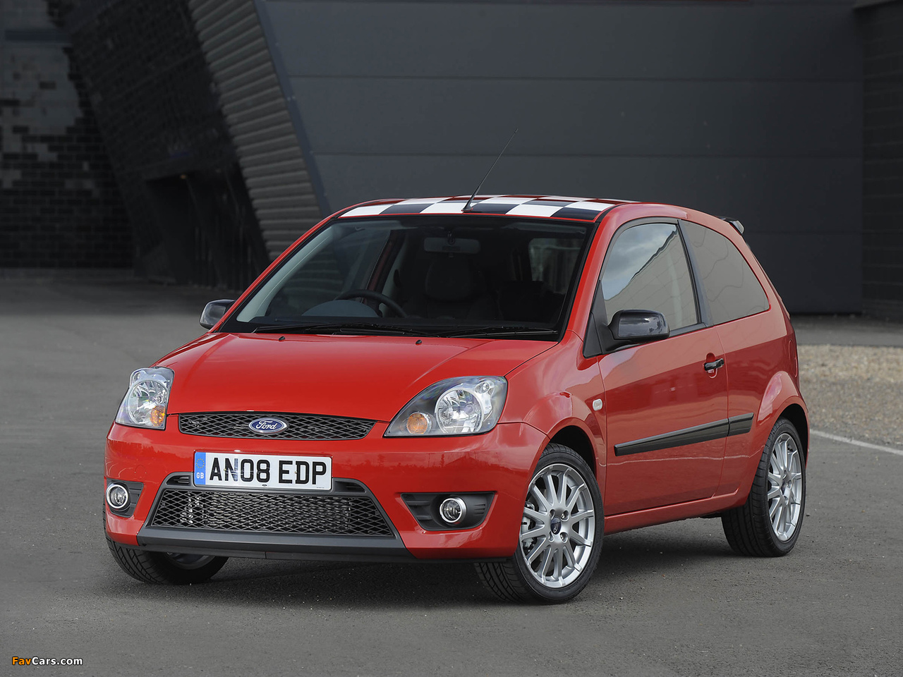 2008 Ford Fiesta Zetec Images Of Ford Fiesta Zetec S Red 2008 1280x960