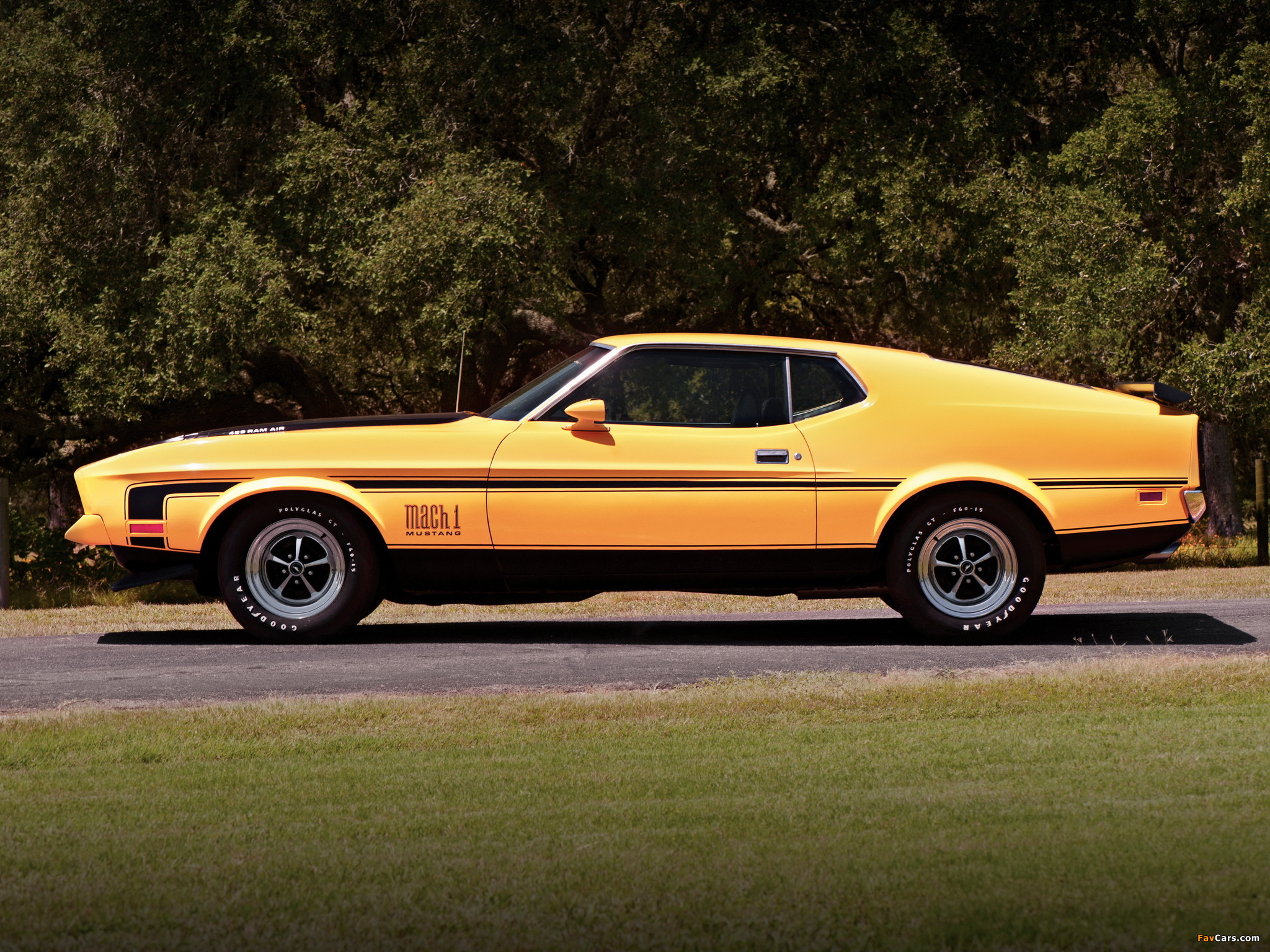 1024x768 Car Wallpapers Images Of Mustang Mach 1 1971 72 2048x1536