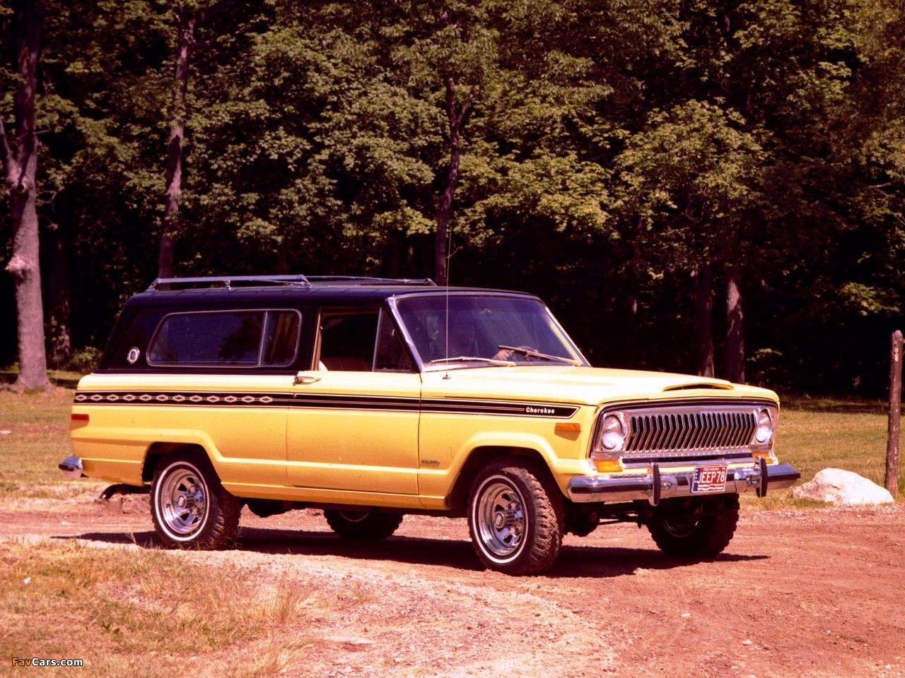1024x768 Car Wallpapers Jeep Cherokee Sj 1974 78 Wallpapers 1280x960