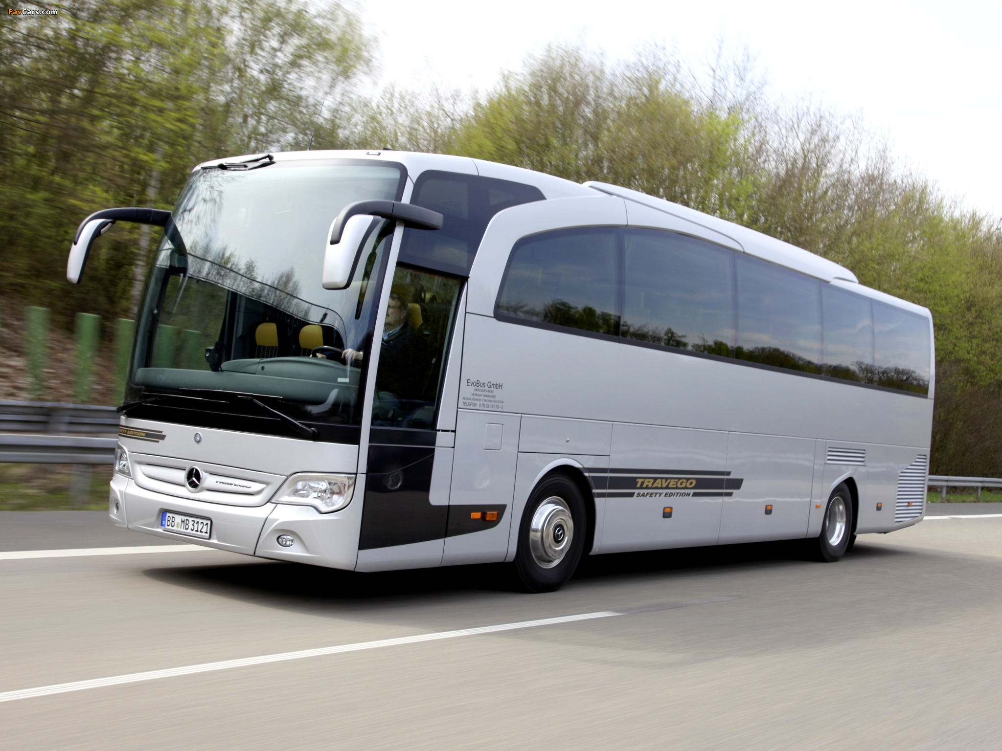 2048x1536 Car Wallpapers Mercedes Benz Travego O580 2008 Wallpapers 2048x1536