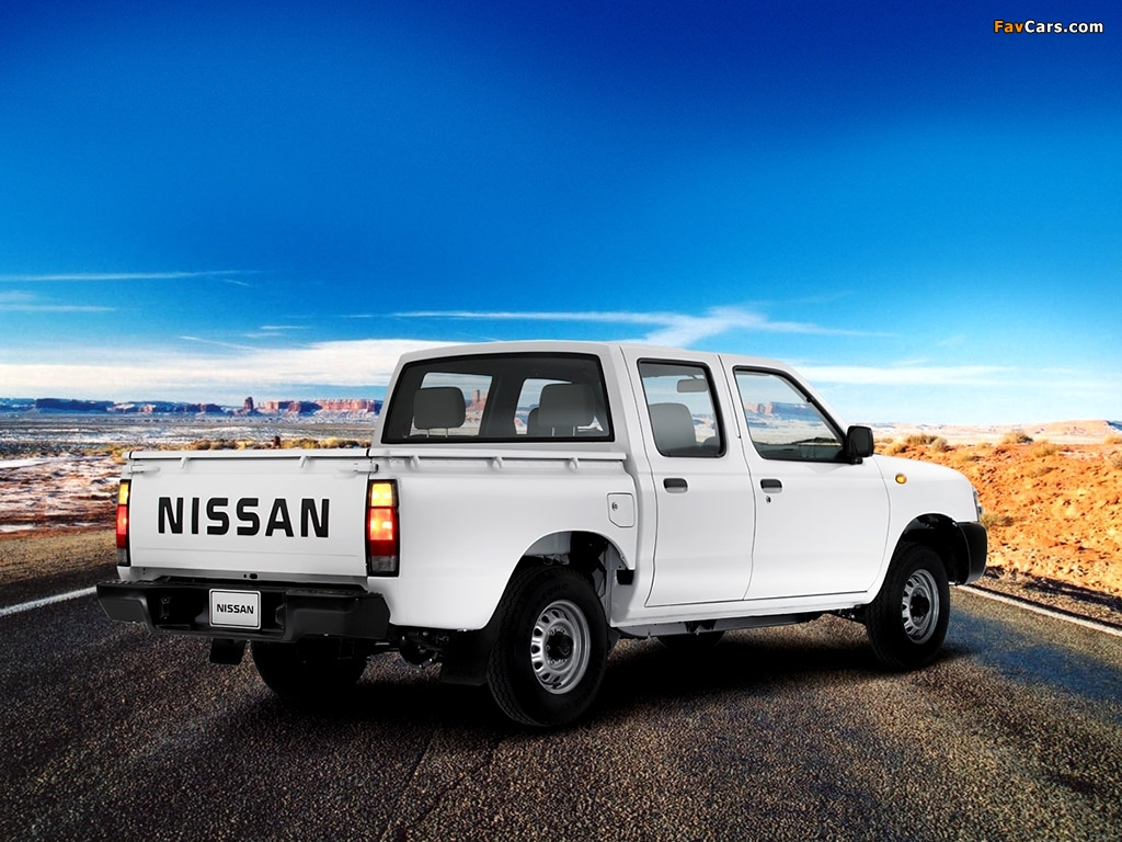 1024x768 Car Wallpapers Nissan Pickup Crew Cab D22 2001 08 Wallpapers 1024x768