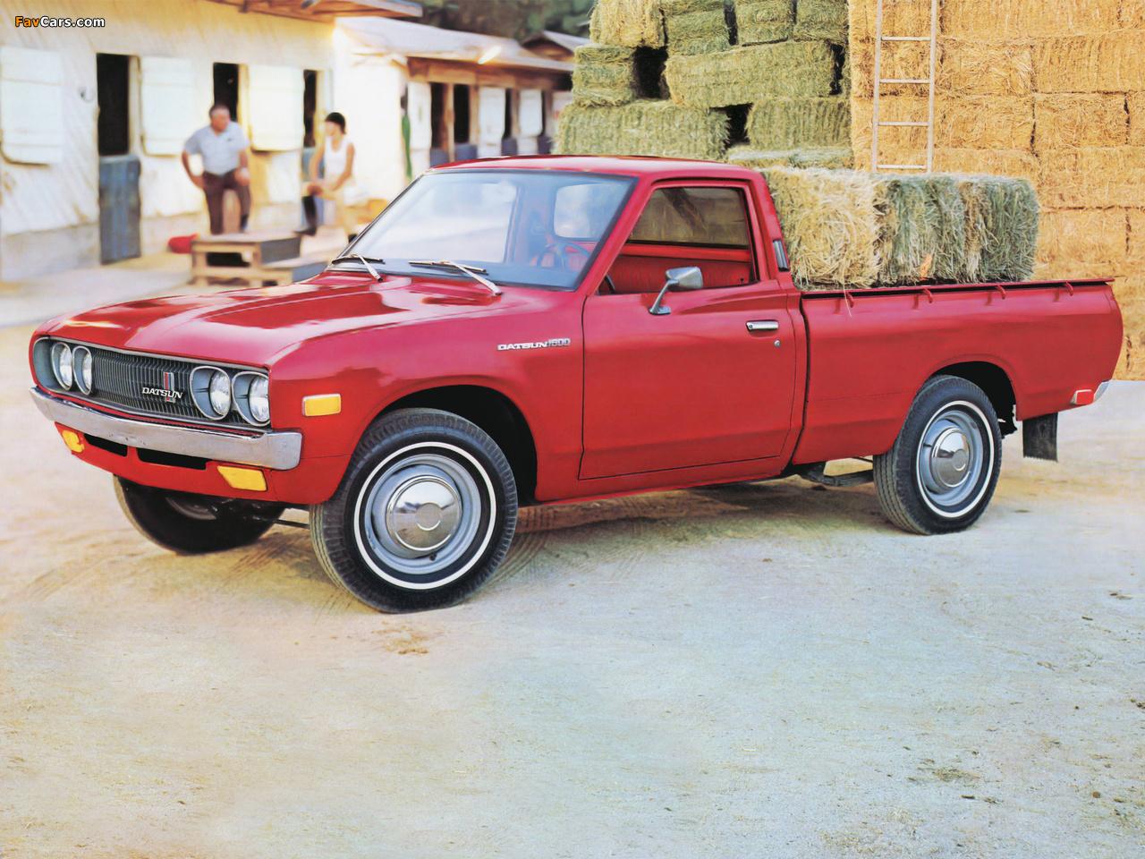 1024x768 Car Wallpapers Datsun Pickup 620 1972 79 Wallpapers 1280x960