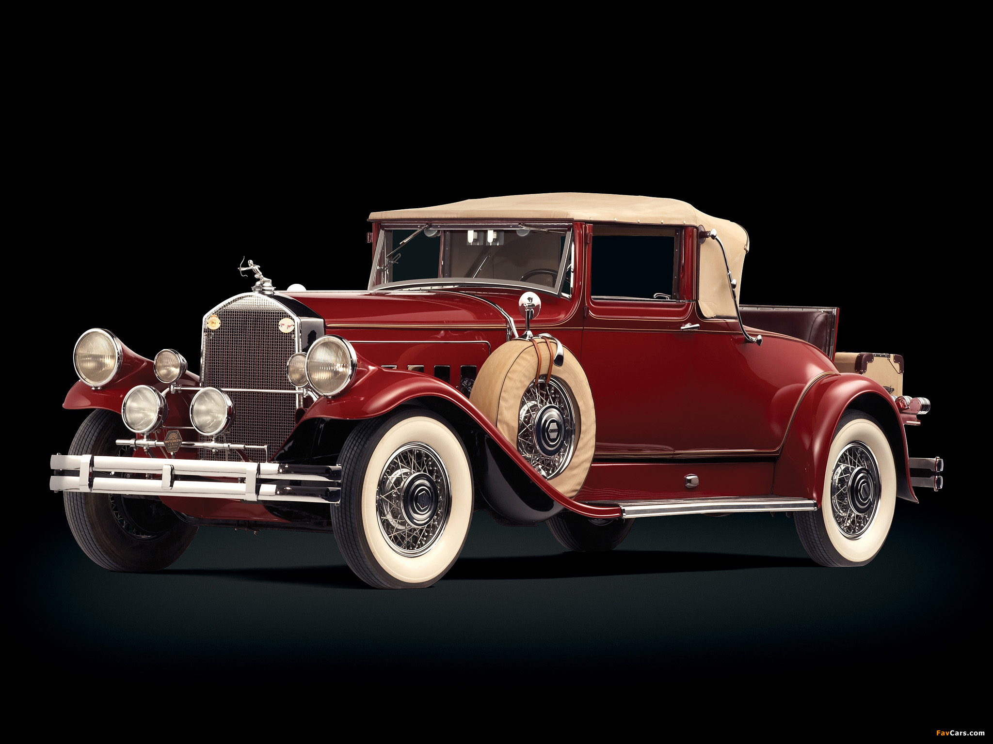 American Muscle Car Desktop Wallpapers Pierce Arrow Model A Convertible Coupe 1930 Wallpapers