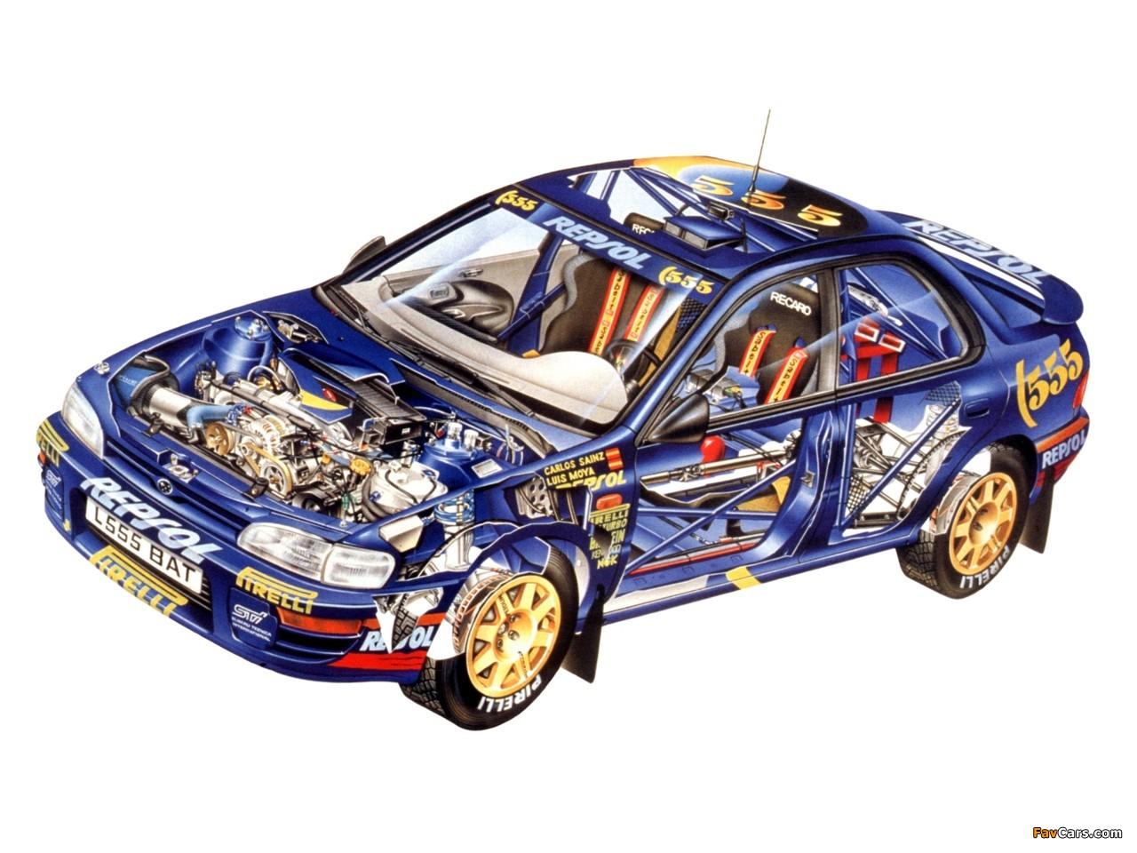 Import Car Wallpapers Subaru Impreza Wrc Gc8 1997 2000 Wallpapers 1280x960