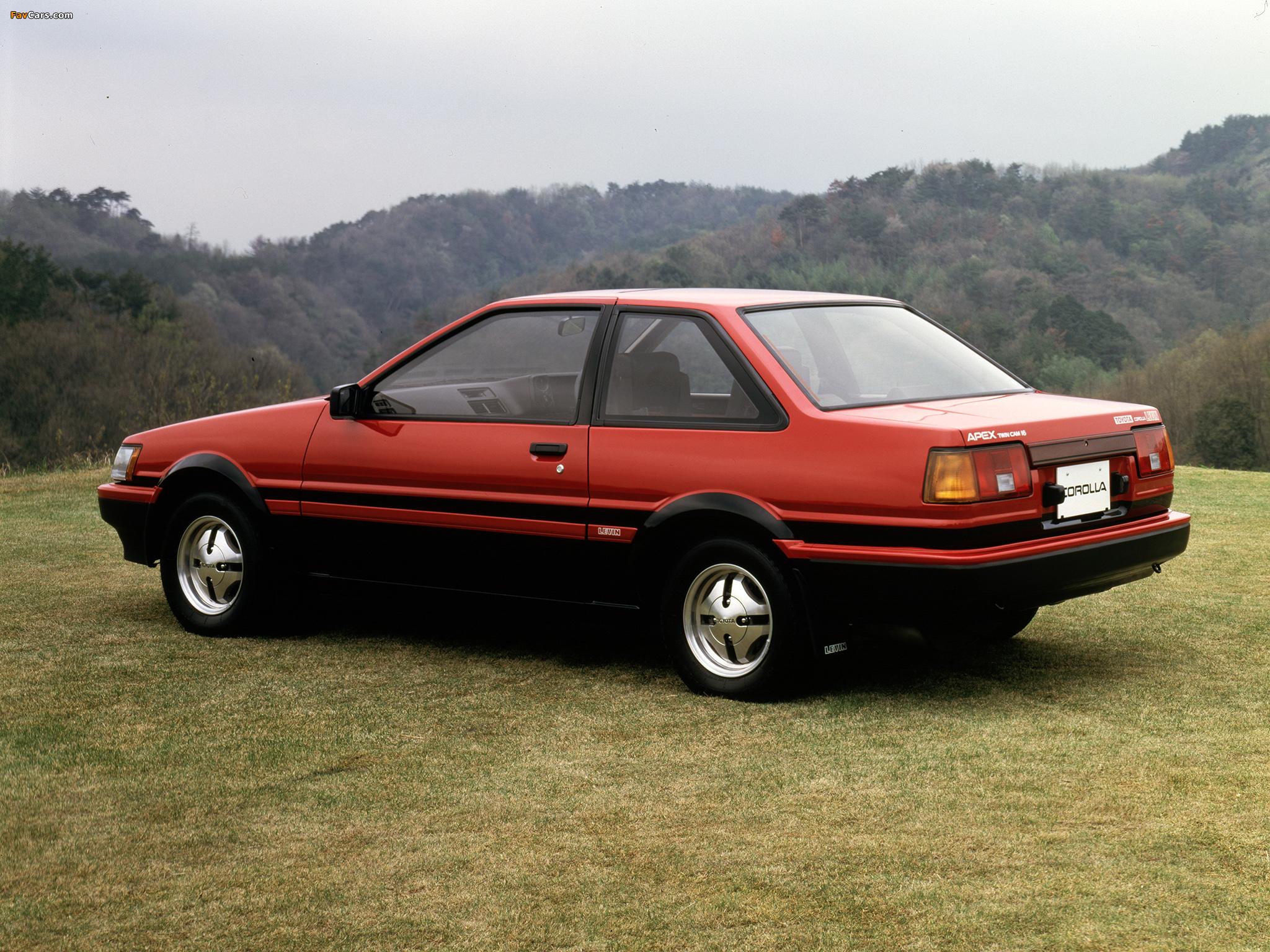 2048x1536 Car Wallpapers Toyota Corolla Levin Gt Apex 2 Door Ae86 1983 85