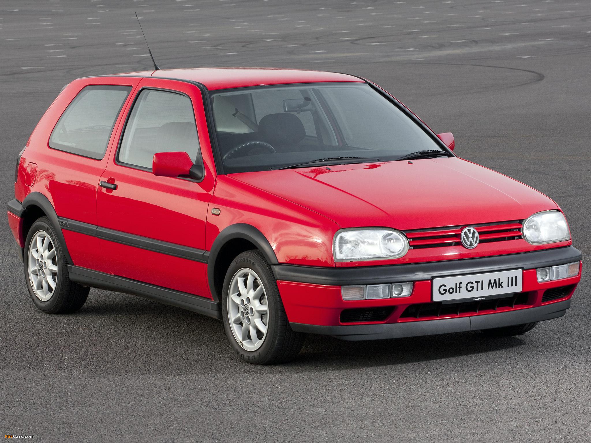 2048x1536 Car Wallpapers Volkswagen Golf Gti Uk Spec Type 1h 1992 97 Wallpapers