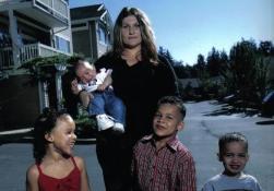 Lydia Fairchild e os seus filhos Fonte: http://goo.gl/YUGerO