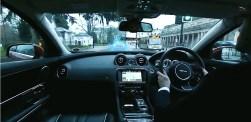Carro Transparente Jaguar