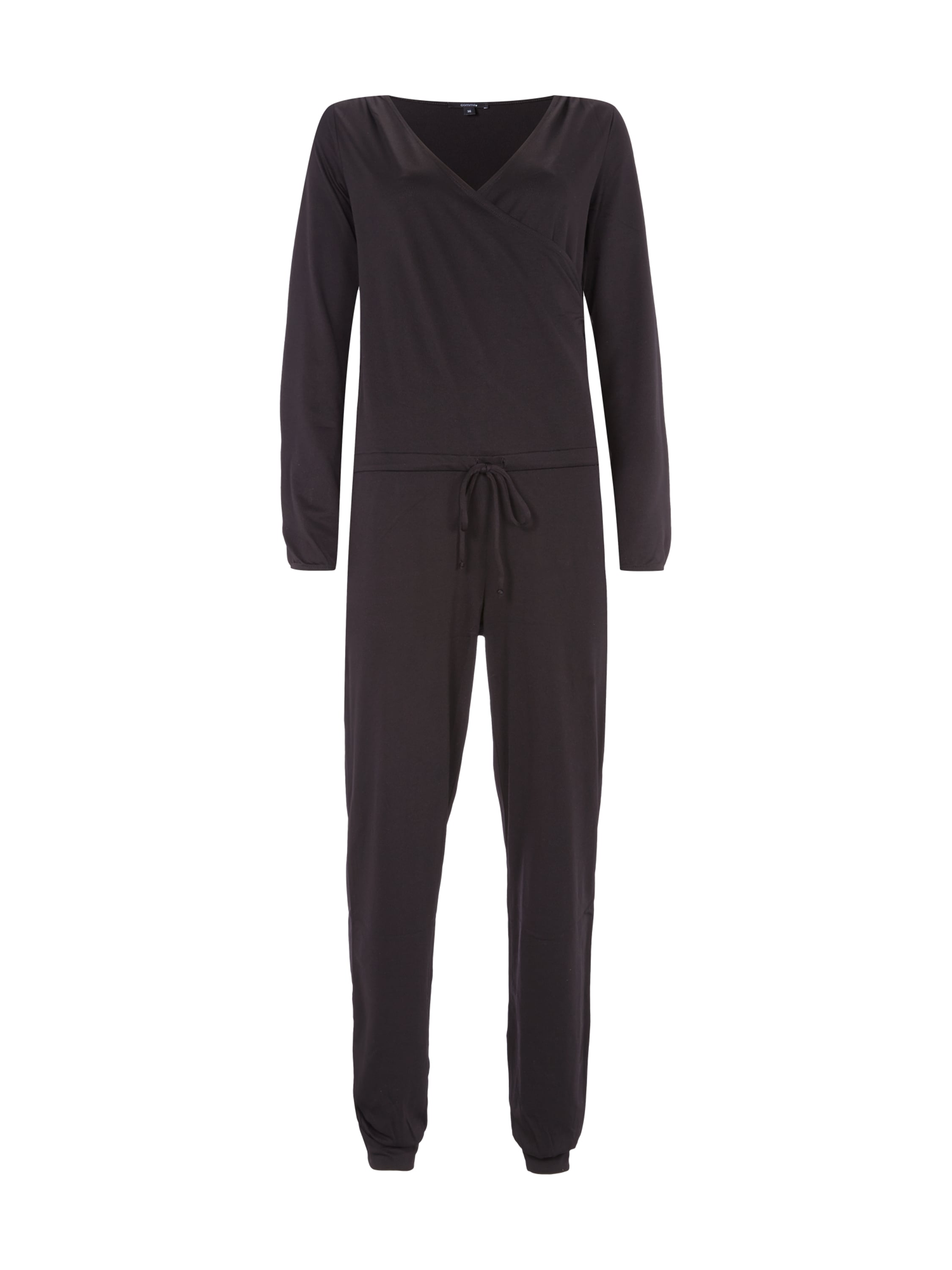 Jumpsuit Edel Comma Jumpsuit Mit Oberteil In Wickel Optik Und Tunnelzug