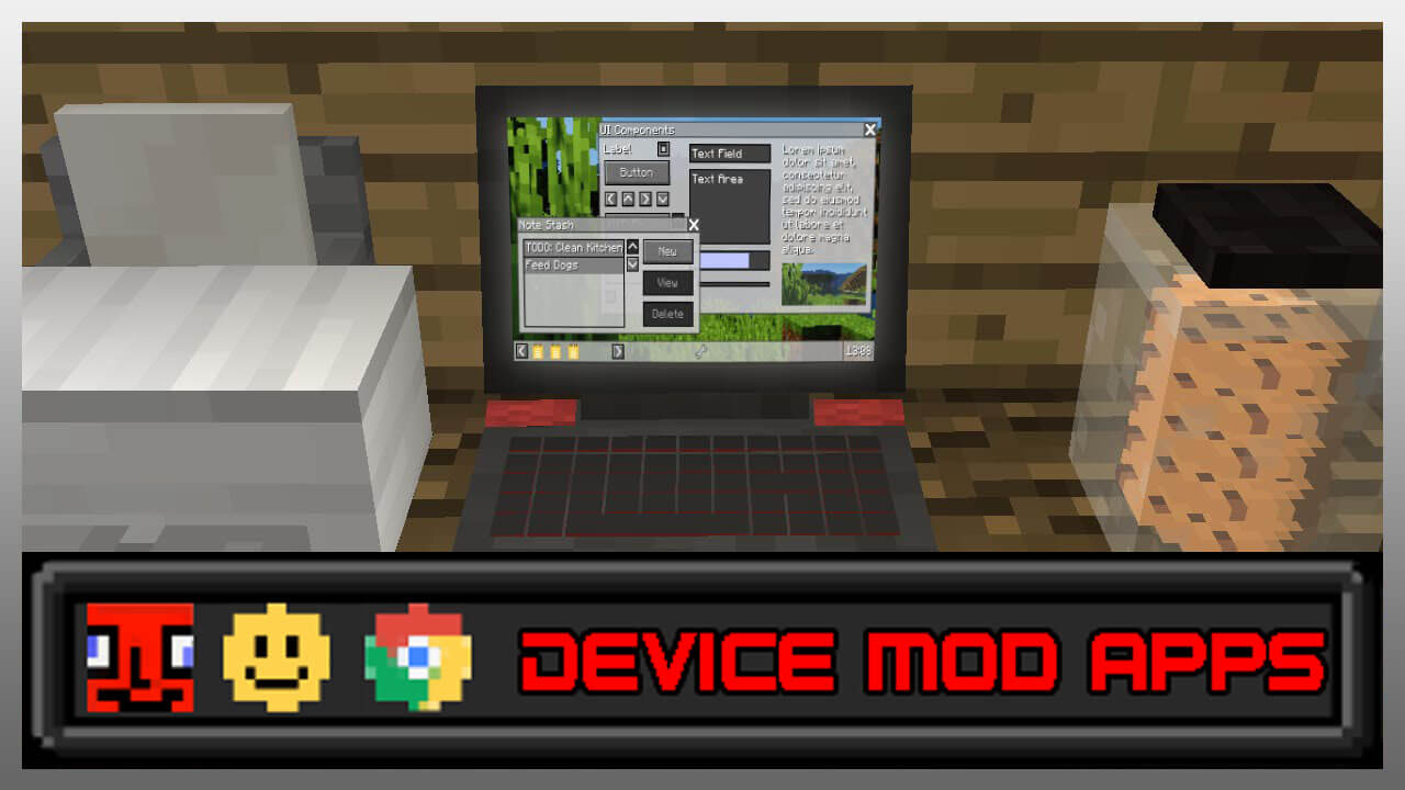 Minecraft Kitchen Mod 1.12.2 Device Mod Apps Mod For Minecraft 1 12 2 File Minecraft