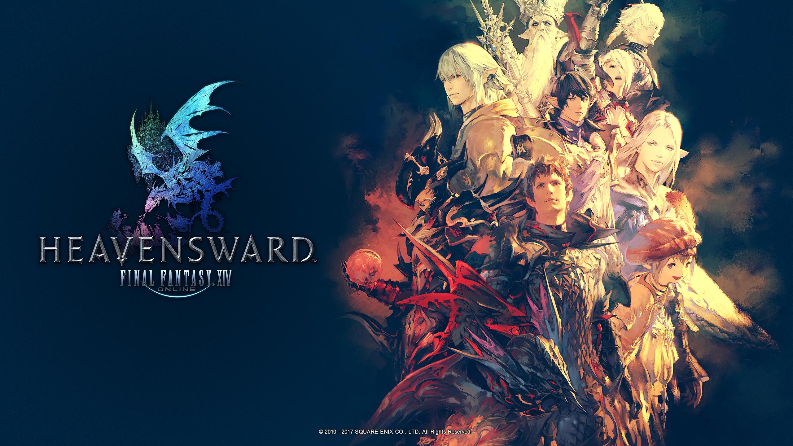 Hd Lock Screen Wallpaper Android Final Fantasy Xiv Fan Kit