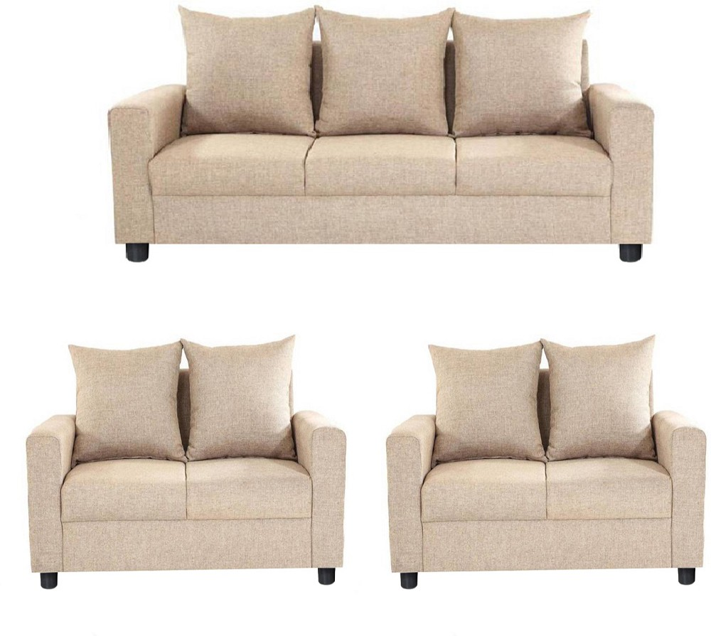 Sofa Set Offers In Mumbai Gioteak Solid Wood 3 2 2 Beige Sofa Set Furniture Price In
