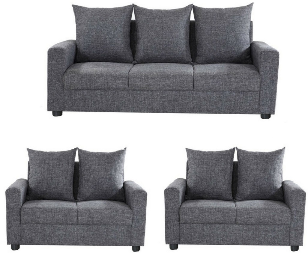 Sofa Set Offers In Mumbai Gioteak Solid Wood 3 2 2 Grey Sofa Set Furniture Price In