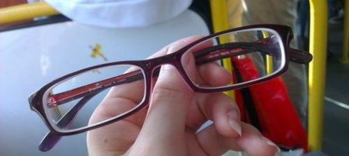 新眼鏡到手~真的很舒適好戴!