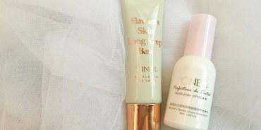 【妝品試用】+ONE%歐恩伊控油妝前凝乳+隔離霜SPF35