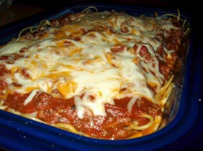 Classic Baked Spaghetti Recipe - Food.com